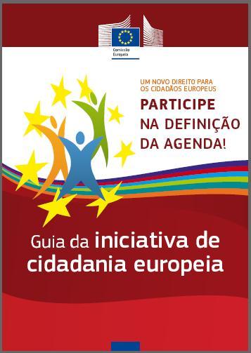 Guia da Iniciativa de Cidadania Europeia