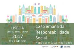 12.ª Edição da Semana da Responsabilidade Social | 22 a 26 de maio, Lisboa