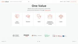 One value, a nova plataforma digital sobre investimento público em inovação social
