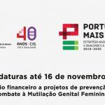 Abertura Candidaturas para Financiamento de Projetos no âmbito da prevenção e combate à Mutilação Genital Feminina