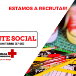 Delegação de Braga da Cruz Vermelha está a recrutar Assistente Social