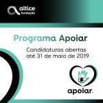 Fundação Altice lança 2ª edição do Programa Apoiar